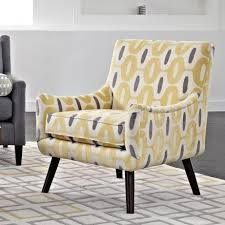 cheap accent chair traditional floral printed fabric accent chair