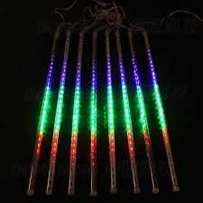aliexpress buy 8pcs 20cm rgb meteor shower led