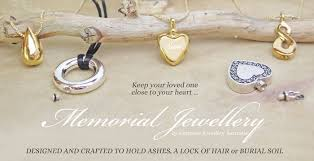 memorial necklace for ashes memorial jewellery and cremation jewellery for ashes or hair