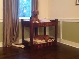 Doggie Beds Dog Bunk Bed My Husband Made For Christmas Saw This On My Board
