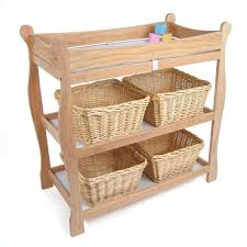 Changing Table Baby Badger Basket Sleigh Style Baby Changing Table Baby World