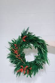 fresh green wreaths at club alison the alison show