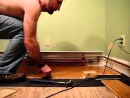 installing locking bamboo engineered flooring