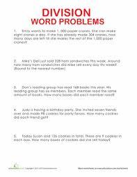 division word problems word problems division and worksheets