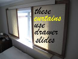 sliding curtain room dividers how to make gliding fabric panels instead of curtains youtube