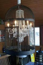 How To Make A Birdcage Chandelier Birdcage Chandelier Home Inspiration Pinterest Birdcage