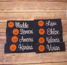 basketball headbands personalized basketball team gifts basketball team headbands