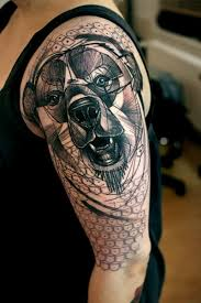 black and gray geometric on half sleeve tattoos book