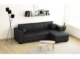canapé d angle en simili cuir canapé d angle 4 places simili cuir tendance