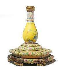 Enamel Vase Car Boot Chinese Vase Sells For 50000 At Salisbury Auction