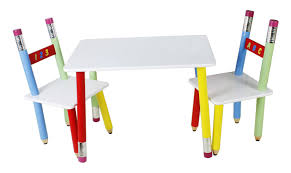 pencil leg table and chairs pencil table and 2 chairs star kidz