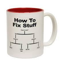funny mugs how to fix stuff coffee mug joke builder plumber