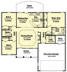 split bedroom floor plans split plan house plans adhome