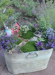 Flower Pot Arrangements For The Patio 33 Miniature Garden Designs Fairy Gardens Defining New Trends In