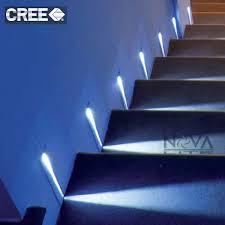 online shop 4pcs spsr free shipping blade beam stair light