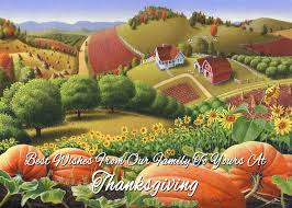 no10 best wishes from our family to yours at thanksgiving painting
