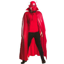 scream halloween costumes kids scream queens red devil mask u0026 cape deluxe costume std the