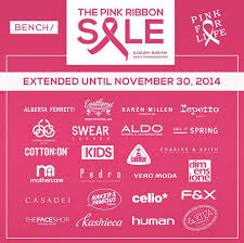 bench the pink ribbon sale bench tower october 2014 manila on sale