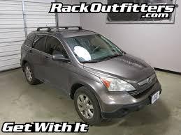 honda crv roof rack installation honda cr v thule black aeroblade edge roof rack 07 11 rack
