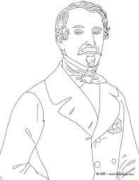president loius napoleon bonaparte coloring page homeschooling