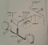 mn triton narva driving light wiring loom 4x4earth