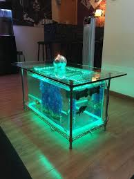 dining room table fish tank grey dining room inspiration from coffee tables 40 gallon aquarium