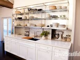 Open Shelves Kitchen Dream Kitchen Photos Open Shelving House Beautiful And Kitchen