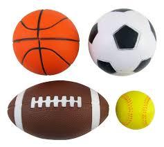 amazon com set of 4 sports balls for kids soccer ball