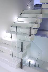 Glass Banisters For Stairs 15 Best Escalera Images On Pinterest Stairs Interior Stairs And