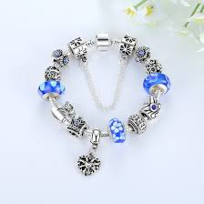 silver plated charm bracelet images Silver plated chain charm bracelet with safety chain crown queen jpg