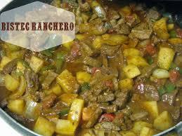 comidas para thanksgiving receta de comida mexicana guiso de bistec ranchero con papas