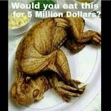 freak nation on would you eat this for 5 million dollars