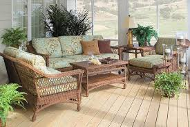 outdoor wicker furniture american country