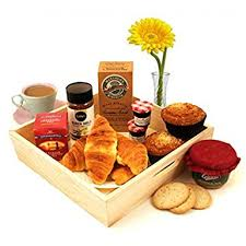 breakfast baskets breakfast hers gift baskets send the breakfast treat for two