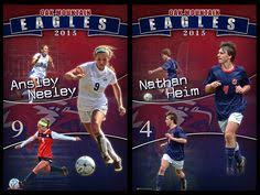 high school senior banners we were happy to create a custom soccer banner for merritt island