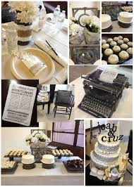 extra extra newspaper baby shower theme idea honey lime