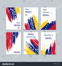 patriotic cards national day expressive stock vector