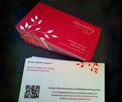 Social Network Business Card Social Networking Qr Code Business Card Best Business Card