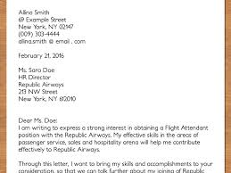 Emailing Resume For Job by How To Write A Cv For A Cabin Crew Position With Pictures