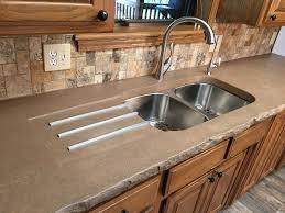 Concrete Kitchen Sink by Integrated Sinks Concrete Creations Nwa