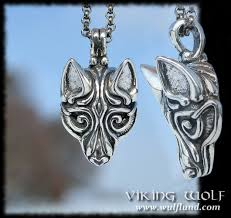 silver wolf pendant necklace images Jewelry by wulflund jpg