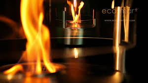 ecosmart fire cyl outdoor ethanol fireplace youtube
