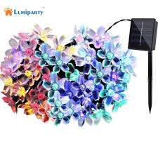 Solar Powered Outdoor Fairy Lights by Compare Prices On Solar Powered Garden Fairy Lights Online