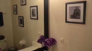 diy project mirror picture frame youtube