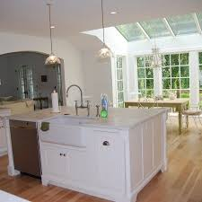 kitchen island with dishwasher and sink 1000 ideas about kitchen island sink on kitchen kitchen