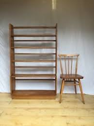 Ercol Bookcase Vinatge Ercol Room Divider Bookshelf Shelves Tv Stand Tolley In