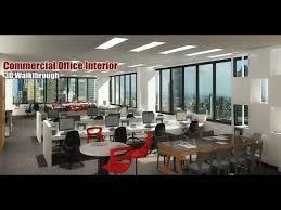 Commercial Building Interior Design by Commercial Office Interior 3d Walkthrough Presentations Video