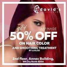 hair salon edsa quezon city david s salon sm north annex hair salon quezon city