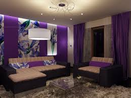 purple and grey living room ideas glass coffee table top leather