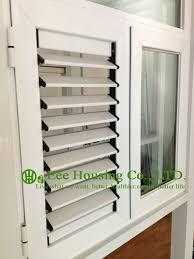 Aluminum Awning Windows Blade Shutter Window Aluminum Louver Shutter Design Aluminum